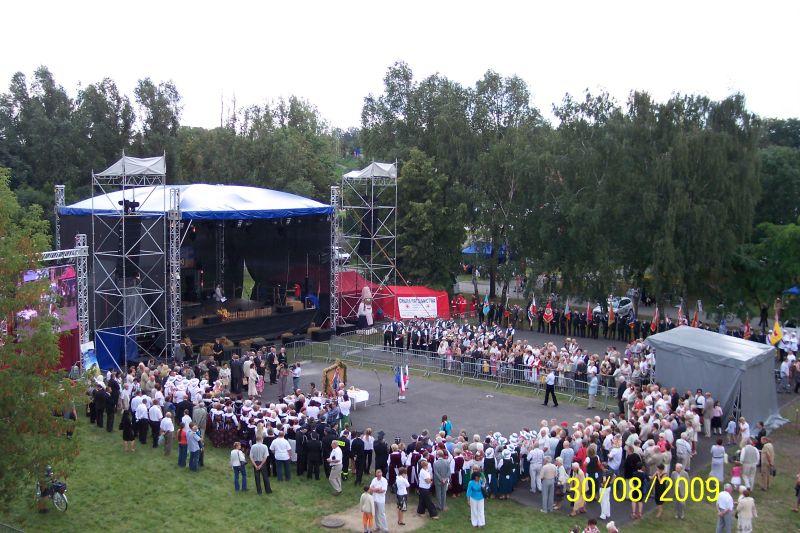 Dożynki Miejskie 2009 w Dąbrowie Górniczej